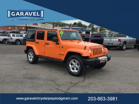 Certified Pre-Owned 2013 Jeep Wrangler Unlimited Sahara