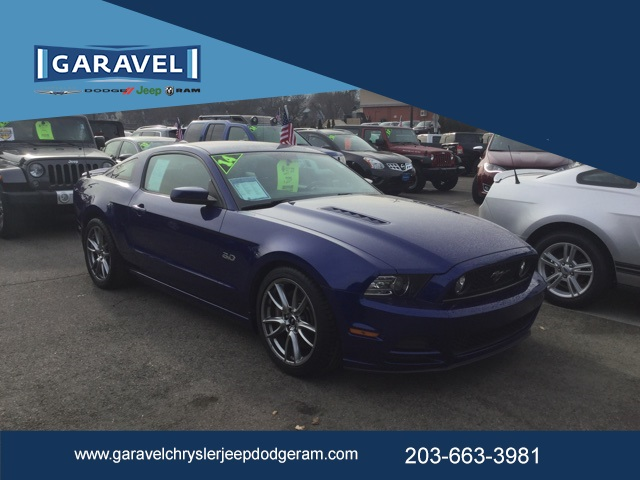 Pre Owned 2014 Ford Mustang Gt Premium 2d Coupe In Norwalk J18