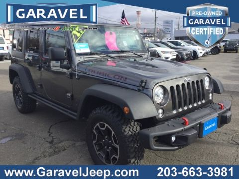 Certified Pre-Owned 2017 Jeep Wrangler Unlimited Rubicon With Navigation & 4WD