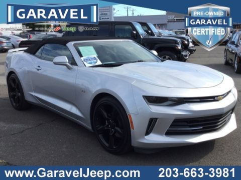 Certified Pre-Owned 2016 Chevrolet Camaro 1LT RWD 2D Convertible